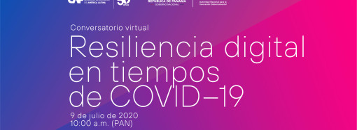 CAF y la Autoridad de Innovación Gubernamental (AIG) invitan al conversatorio «Resiliencia Digital en Tiempos de Covid-19»