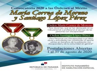 El IPHE abre el periodo para las postulaciones a las órdenes al mérito María Correa de Moreno y Santiago López Pérez