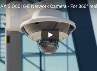 Axis Communications anuncia la AXIS Q6010-E Network Camera, un dispositivo ideal para vistas panorámicas