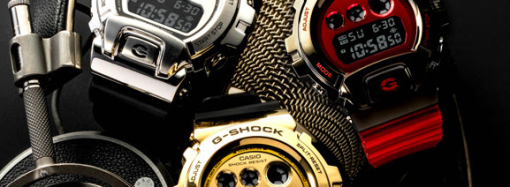 Casio incorpora un deslumbrante acabado metálico en su nueva colección Aniversario de relojes G-SHOCK