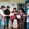 Cinco familias de escasos recursos recibieron asistencia social por parte del Gobierno Nacional