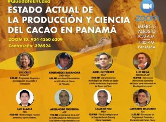 Participa en el Simposio Virtual «Estado Actual de la Producción y Ciencia del Cacao en Panamá»