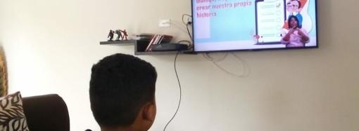 El 74% de los centros educativos conectados, en la segunda semana del retorno a clases a distancia