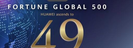 Huawei sube de posición en el ranking de 'Fortune Global 500'