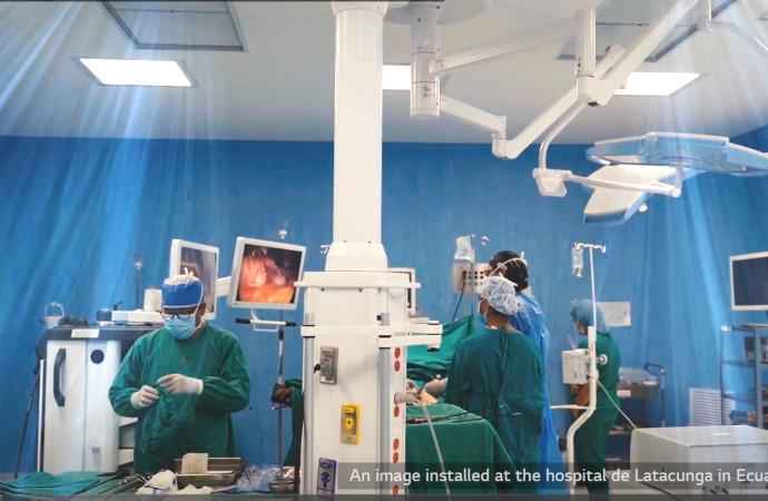 LG ofrece soluciones para áreas de Salud, proyectos con grandes retos