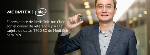 MediaTek e Intel se unen para llevar 5G a la próxima generación de PC