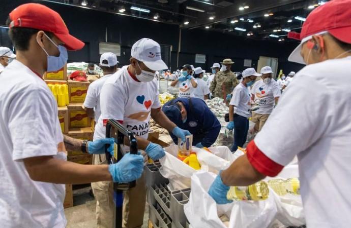 Más de 1.5 millones de panameños han recibido bolsa solidaria, vale digital y bono físico
