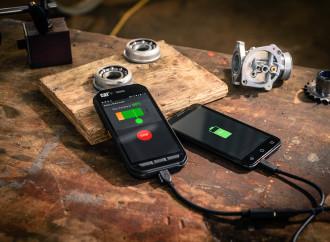 Celular de CAT® puede funcionar como bateríaexterna