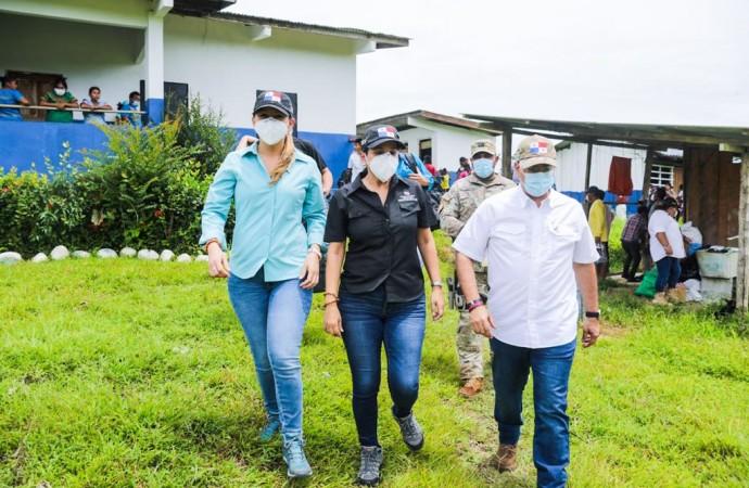 MIDES moviliza ayuda social a víctimas por afectadas por el desbordamiento de Río Bejuco