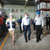 Presidente visita planta Levapan, empresa que contribuye con el suministro de alimentos al Plan Panamá Solidario
