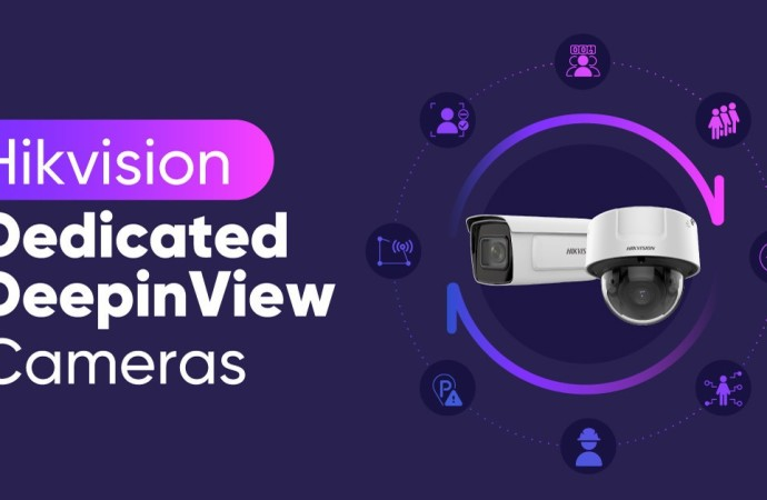 Hikvision presenta la serie Dedicated con algoritmos de Inteligencia Artificial para su línea de cámaras DeepinView