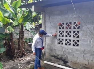 Miviot evalúa daños a casas por reciente sismo en Barú