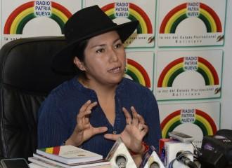 Bolivia: Ministra Paco advierte tema pendiente con CNN por irrespeto a Ministro de Gobierno