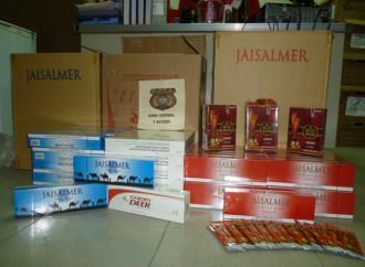 La DPFA decomisa lote de cigarrillos de contrabando