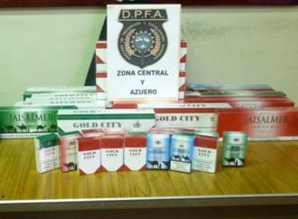 Autoridad de Aduanas decomisa cigarrillos de presunto contrabando