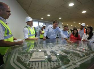 Presidente Varela supervisa avances del 45% de los trabajos en Ciudad de la Salud