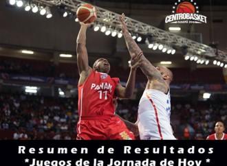 Resultados y Juegos para hoy del Centrobasket Panamá 2016