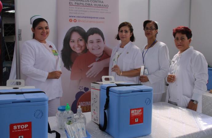 Gobierno inicia campaña de vacunación contra el VPH a niños a partir de 10 años de edad