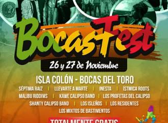 Isla Colón abre sus puertas al «BocasFest» este 26 y 27 de noviembre