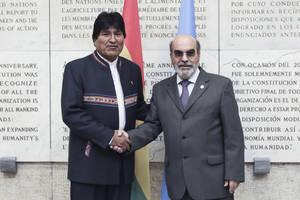 FAO brindará apoyo a Bolivia en la obtención de recursos del Fondo Verde para proyectos de agua