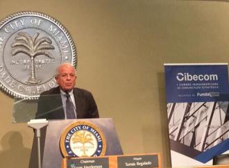 Alcalde de Miami presenta la Cumbre CIBECOM 2017