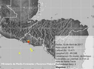 Autoridades de El Salvador informaron que sismo no provocó daños ni víctimas