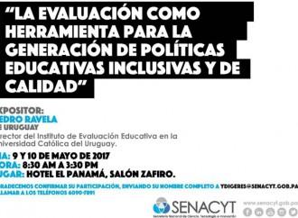 SENACYT inicia hoy Mesa de Dialogo de Política Educativa