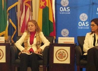 """OEA debate """"Trata de mujeres y niñas en América Latina y el Caribe: Desafíos regionales para su abordaje"""""""