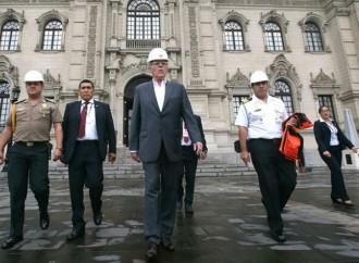 Perú participó en Simulacro por Sismo