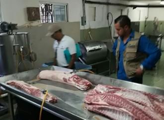 Autoridades detectaron una fabrica procesadora de alimentos clandestina