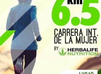 Este domingo participa en la Carrera Internacional de las Mujeres