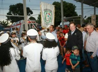 El deporte en La Chorrera se fortalece con el renovado estadio 28 de Noviembre