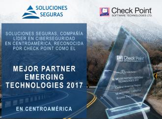 Check Point Software Technologies premia a Soluciones Seguras
