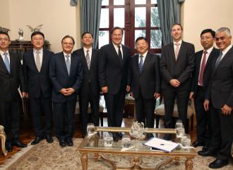 Empresas chinas siguen mostrando interés en realizar estudios de prefactibilidad para la construcción de sistema ferroviario