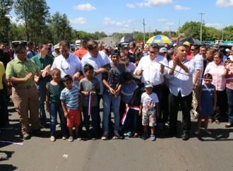 «Lo correcto fue proteger empleos y terminar las obras», afirmó presidente Varela al inaugurar nueva carretera Santiago-David