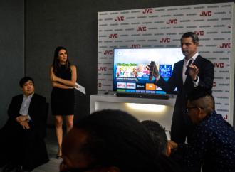 JVC lanza desde Panamá su primer Televisor con tecnología Android TV