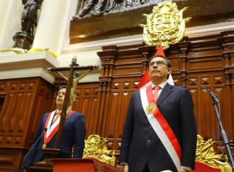 Martín Vizcarra jura como presidente constitucional de la República del Perú