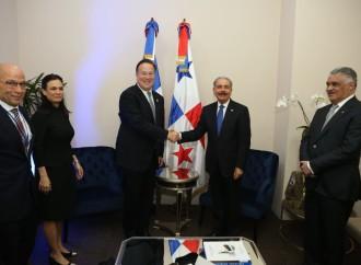 Presidente Juan Carlos Varela sostiene reuniones bilaterales con sus homólogos de Costa Rica y República Dominicana
