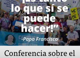 El Vaticano convoca a una cumbre mundial sobre liderazgo climático