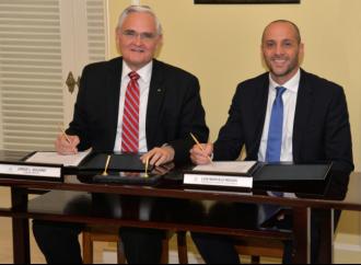 Telefónica Panamá y la ACP refuerzan lazos de cooperación