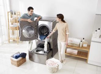 LG aprovecha el poder del vapor para potenciar los electrodomésticos