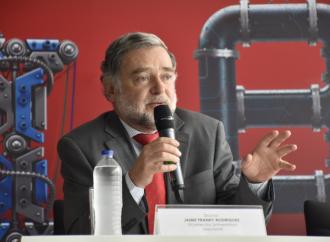 «Revolución 4.0 debetomarse en serio», expresóJaime Rodríguez de laUniversidad Nacional de Colombia