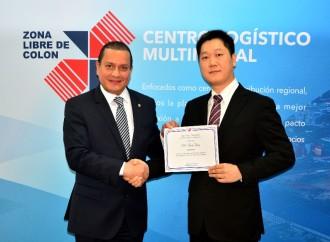 Shanghai Gorgeous Group recibe reconocimiento de la Zona Libre de Colón