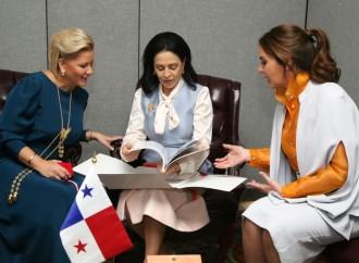 Primera Dama de Panamá y sus homólogas de Ecuador y Paraguay estrechan lazos de amistad y cooperación