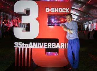 2018: Un año de evolución y tecnológica y celebración para G-SHOCK