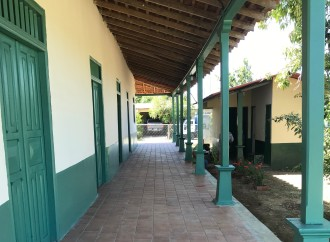 Avanza la restauración del  Museo Manuel F. Zárate