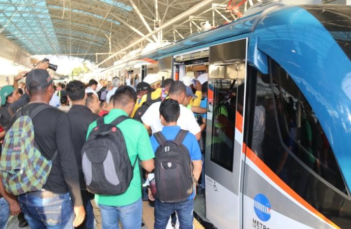 """Presidente Varela entrega la Línea 2 del Metro de Panamá, obra construida con """"transparencia y eficiencia"""" para beneficiar a más de 500 mil panameños"""