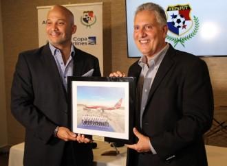 Copa Airlines, Aerolínea oficial de «La Sele» rumbo a Qatar 2022