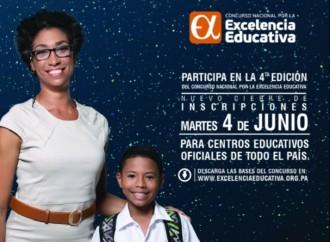 Concurso Nacional por la Excelencia Educativa extiende superíodo de inscripciones para su Cuarta Edición