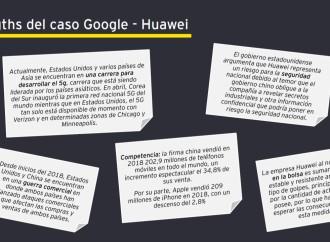 10 riesgos en telecomunicaciones: caso Google Huawei